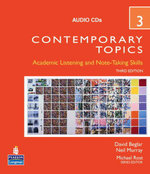 Contemporary Topics 3 Audio CDs