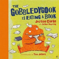 The Gobbledygook is Eating a Book