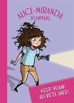 2017 Alice-Miranda Journal with Lock and Key