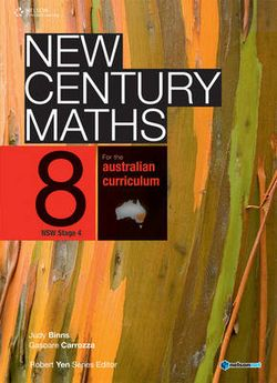 New Century Maths 8 Student Book Plus Access Card for 4 Years