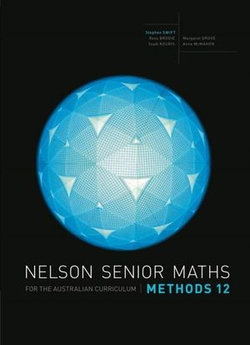Nelson Senior Maths Methods 12 Student book with Access Card