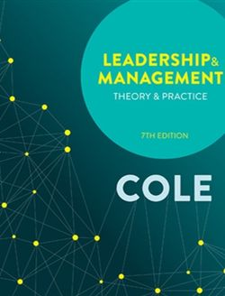 Leadership and Management