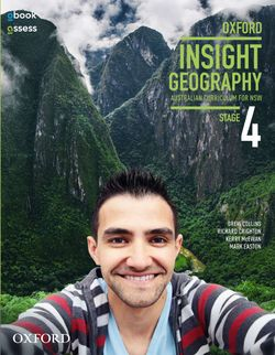 Oxford Insight Geography AC for NSW Stage 4 Student Book + obook/assess
