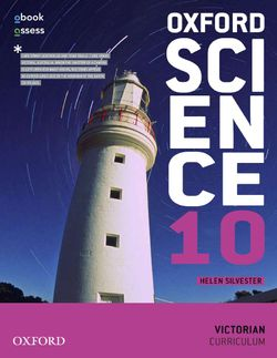 Oxford Science 10 Victorian Curriculum Student Book + Obook/Assess