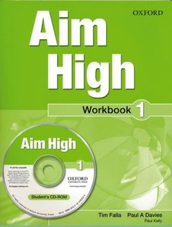 Aim High Level 1 Workbook & CD-ROM