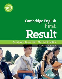 Cambridge English: First Result Student's Book & Online Skills Practice Pack