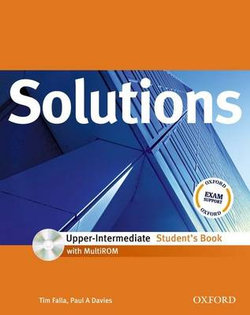 Solutions Upper-intermediate: Students Book with MultiROM Pack