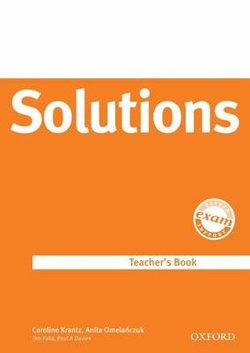 Solutions Upper-Intermediate: Teacher's Book