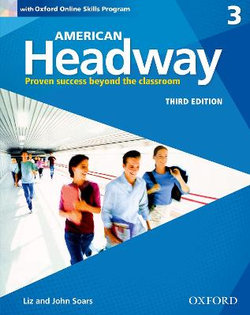 American Headway 3 Students Book and Oxford Online Skills Program Pack