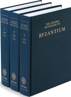 The Oxford Dictionary of Byzantium
