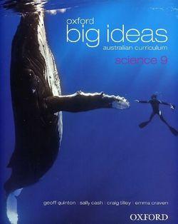Oxford Big Ideas Science 9 Australian Curriculum Student Book