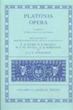 Plato Opera Volume I