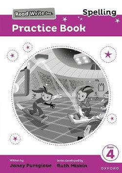 Read Write Inc.: Spelling Practice Book 4 Pack of 5