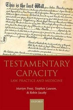 Testamentary Capacity