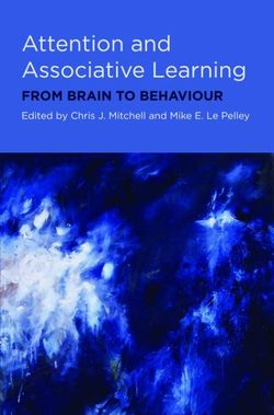 Attention and Associative Learning
