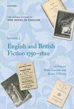 English and British Fiction, 1750-1820