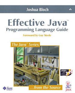 Effective Java Programming Language