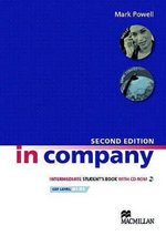 In Company Intermediate Student's Book & CD-ROM Pack 2nd Edition