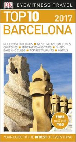 Dk Eyewitness Top 10 Travel Guide - Barcelona