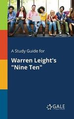 A Study Guide for Warren Leight's Nine Ten