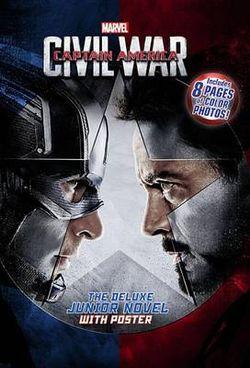 Captain America: Civil War Deluxe Junior Novel