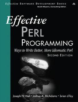 Effective Perl Programming