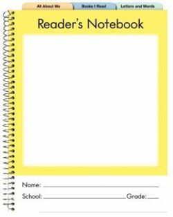 Fountas & Pinnell's Reader's Notebook Primary K-2