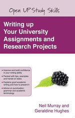 Writing up your University Assignments and Research Projects