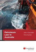 Petroleum Law in Australia