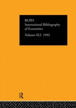 IBSS: Economics: 1992 Vol 41