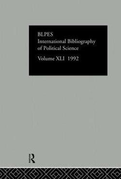 IBSS: Political Science: 1992 Vol 41