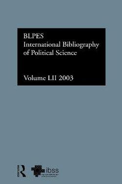 IBSS: Political Science: 2003 Vol.52