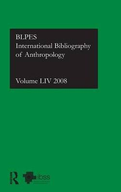 IBSS: Anthropology: 2008 Vol.54