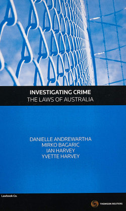 Investigating Crime - The Laws of Australia