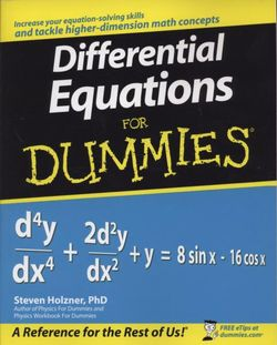 Differential Equations For Dummies