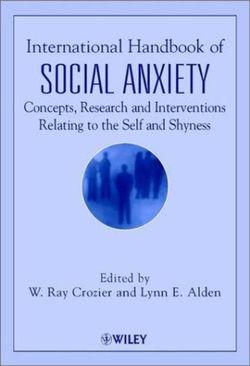 International Handbook of Social Anxiety