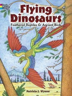 Flying Dinosaurs Coloring Book