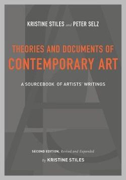 Theories and Documents of Contemporary Art
