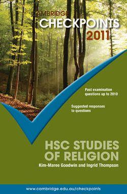 Cambridge Checkpoints HSC Studies of Religion 2011