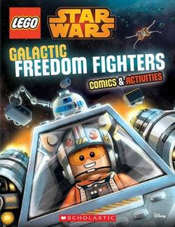 Galactic Freedom Fighters Comics and Activities