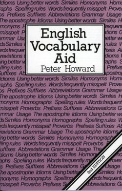 English Vocabulary Aid