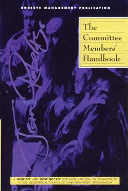 The Committee Member's Handbook