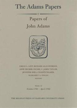 Papers of John Adams, Volume 12