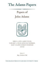 Papers of John Adams, Volume 13