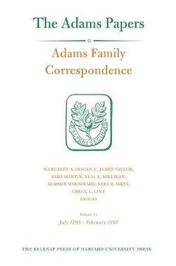 Adams Family Correspondence, Volume 11