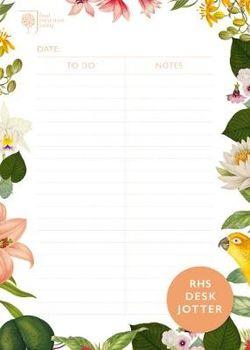 Royal Horticultural Society Desk Jotter