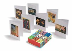 Art Box Greeting Cards (Red), The