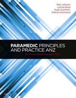 Paramedic Principles and Practice ANZ