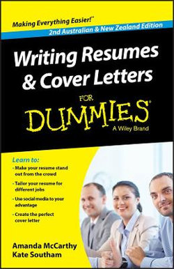 Writing Resumes and Cover Letters For Dummies - Australia / NZ