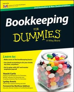 Bookkeeping For Dummies - Australia / NZ